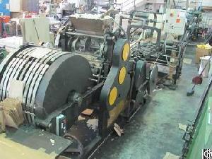 Four 4 X Flat / Sachel Bag Making Machines