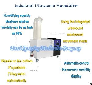 Factory Direct Supply 9-12l Industrial Ultrasonic Humidifier Portable