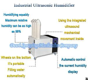 Supply 15l Industrial Ultrasonic Humidifier For Dedust Factory Workshop Construction Building