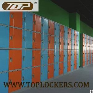 Four Tier Plastic Cabinets, Abs Knocked-down Orange
