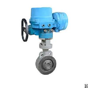 The Wafer Electric Butterfly Valve