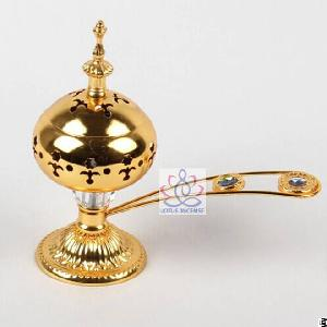 Arabic Incense Burner Middle East Aromatherapy