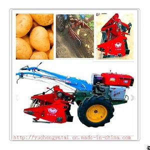 Good Quality Mini Potato / Sweet Potato Harvester / Harvesting Machine For Walking Tractor