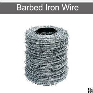 Barbed Iron Wires