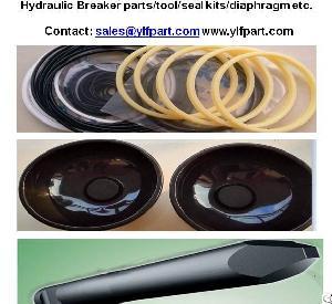 Seal Kits Diaphragm Chisels For Furukawa Hydraulic Breaker F27 F12 F27 F9 F6 F5 F4 F3 Hb8g Hb5g Fs12