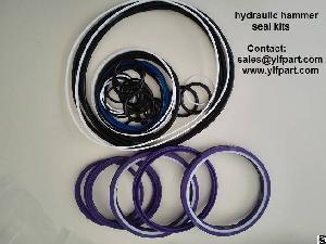 Seal Kits For Excavator Hydraulic Breaker Furukawa Ffs12 Fs27 Fs37 Fs47 Fs6 Fx120 Fx360 Fx470 Hb400
