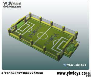 Inflatable Basketball And Football Field With Protective Net, Inflatable Sport Toys