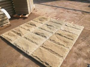 Yellow Sandstone Natural Face Tiles