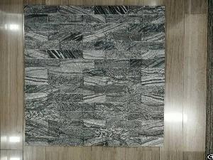 Zebra Black Marble Mosaic