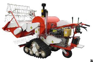 Walking-type Small Rice Harvester For Sale