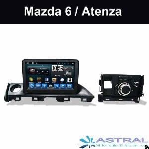 Factory Wholesale Gps Dvd Car Navigation Stereo Mazda 6 Atenza 2017