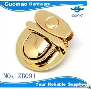 Pretty Gold Luggage Press Luggage Lock