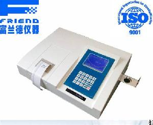 X-ray Spectroscopy Sulfur Content Analyzer Oil X-ray Sulfur Analyzer