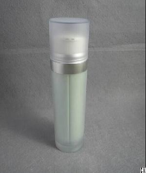 100ml 2x50ml Cosmetic Dual Chamber Bottle, One Pump With Two Holes