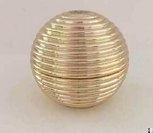 15gram 30gram 50gram Latest , New Cosemtic Sphere Jar , Gold Jar