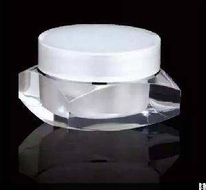 1ounce 30gram New Cosmetic Acrylic Square Jar