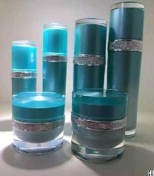 30ml 50ml 100ml 120ml , 30gr 50gr Latest Cosmetic Serum Bottle , Lotion Pump Acrylic Bottle