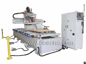 Cnc Auto Tool Changer Center Nesting Cnc Router With Drills For Wood Cabinets Making Atc1335vd