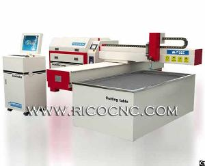 Small Cnc Water Jet Cutter Machine For Metal Steel Stone Cutting Wj1020