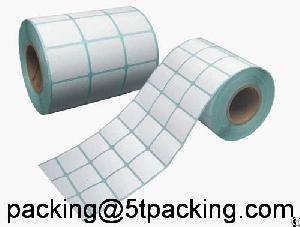 Super Market Blank No Printing Adhesive Labels