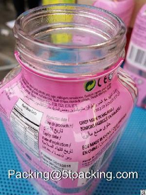Super Pof Shrink Labels For Candy Beverage Bottle