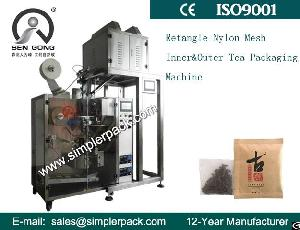 Flat Ultrasonic Pla Bag Packing Machine With Outer Envelope