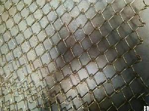 Chain-link Diamond Wire Mesh