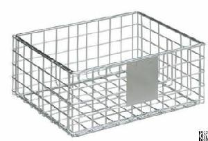 Slatwall Display Shelf Wire Basket