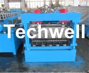 Steel Silo Corrugated Wall Sheet Roll Forming Machine