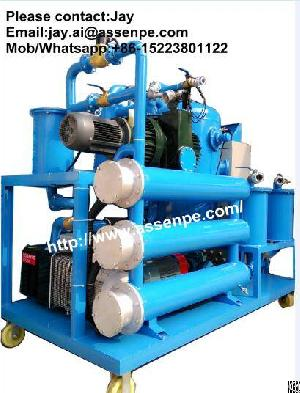 stage vacuum transformer oil purifier machine purification dehydration plant