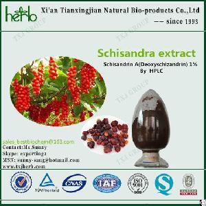 Schisandra Chinensis P E Schisandrin A Deoxyschisandrin 1% Cas 7432-28-2