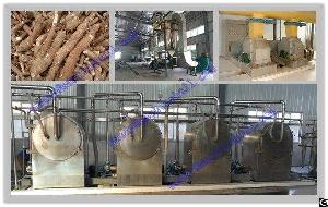 Commercial Cassava Starch Production Line With Best Price China