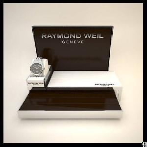 Fancy Wooden Watch Display Stand For Watch