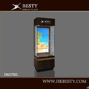 Glass Watch Display Wall Cabinet