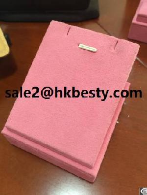 High Quality Microfiber Pendant Display Stand In Stock