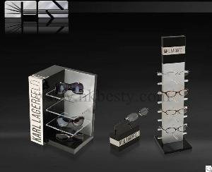 Transparent Acrylic Sunglass Display Set