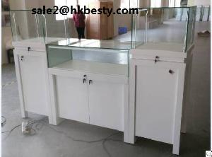 White Tower And Counter Showcase Series With High Power Led Light
