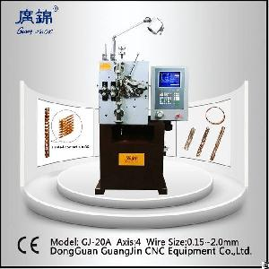 China High Precision Cnc Slanted Coil Spring Machine