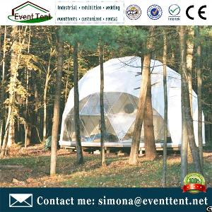 Cheap Wedding Party Dome Tents Geodesic House Bell Tent Circle Outdoor Dome Tenda For C&ing & Glamping Outdoor Tent Round House Steel Frame 500 Peoples Corona ...