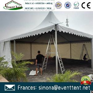 Customized Fireproof Pvc Fabric 3x3m 4x4m 5x5m Pagoda Tents For Sale To Uk : tents fabric - memphite.com