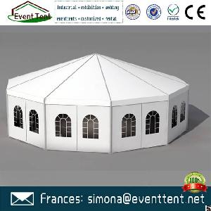 Water Resistant Customized Size Or Logo Pivilion Decagon Tent For Sale For Event Party Wedding