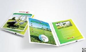 Factory Price 5 Inch Video Brochure Promotional Greeting Card Video Card With High Quality Print