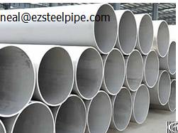 Erw Steel Pipe Structure Tube Astm A53 / A312 / A554