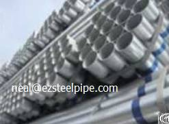 Pre-galvanized Steel Pipe Astm A53 Furniture Structure Pipe