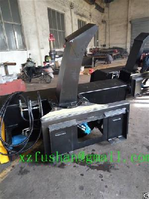 Snow Removal Machine For Skid Steer Loader, Loader Snow Thrower