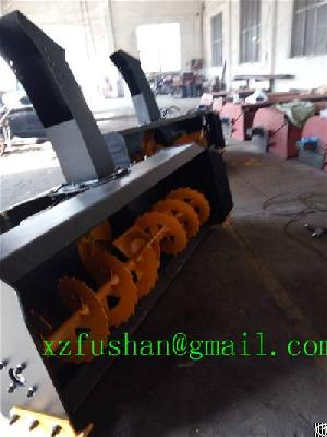 Snow Thrower, Snow Removal Equipment For Skid Loader, Loader