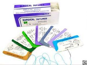 Demo Medical Disposable Sterile Surgical Sutures With Needle