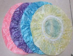 Demo Medical Pe Material Single Use Shower Cap