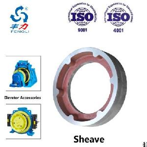 Traction Sheave Frame Hub For All Kind Of Elevator