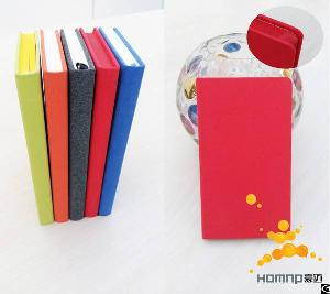 Eco Friendly Custom Felt Oriange Slim Journal